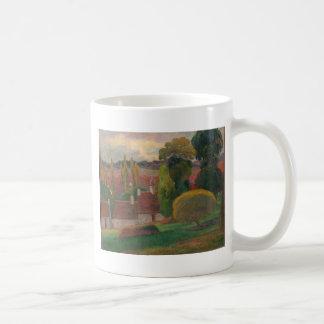 A Farm in Brittany - Paul Gauguin Coffee Mug