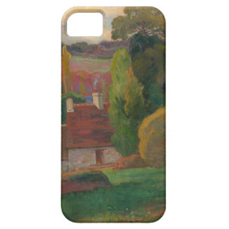 A Farm in Brittany - Paul Gauguin iPhone 5 Case