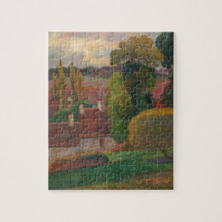 A Farm in Brittany - Paul Gauguin Jigsaw Puzzle