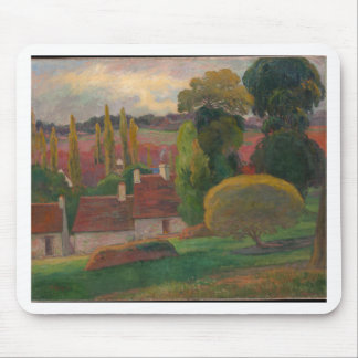 A Farm in Brittany - Paul Gauguin Mouse Pad