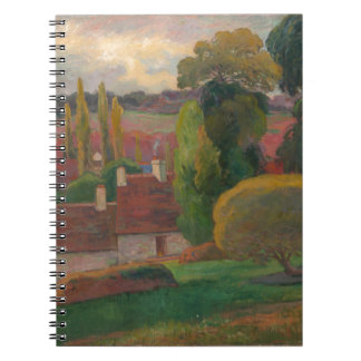A Farm in Brittany - Paul Gauguin Notebook