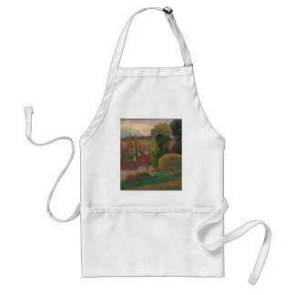 A Farm in Brittany - Paul Gauguin Standard Apron
