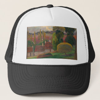 A Farm in Brittany - Paul Gauguin Trucker Hat