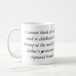 A FATHER'S PROTECTION COFFEE MUG