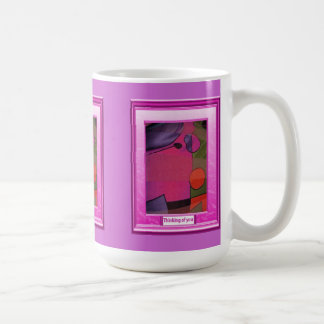 A feast of colour, Shades of pink Basic White Mug