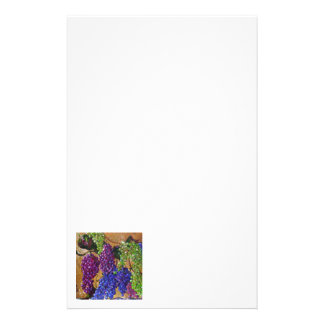 A Festival of Grapes Stationery