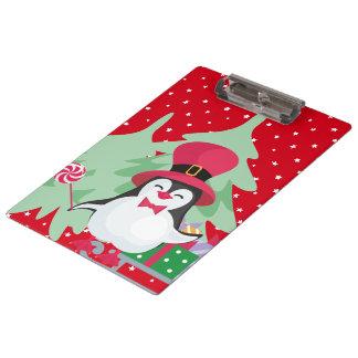 A Festive Penguin - 1 Clipboard