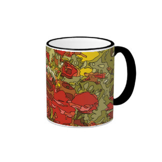 A Field of Red Poppies Coffee Mug