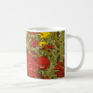 A Field of Red Poppies Coffee Mugs