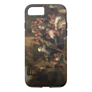 A Fight Outside a Tavern iPhone 7 Case