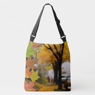 A Fine Autumn Day Crossbody Bag