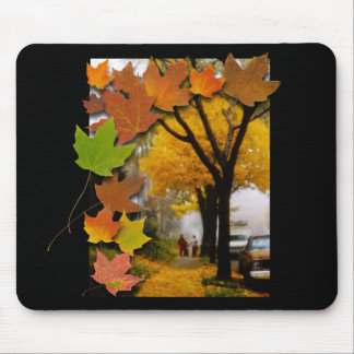 A Fine Autumn Day Mouse Pad