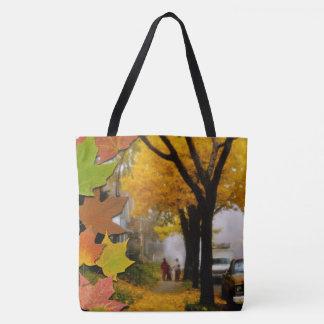A Fine Autumn Day Tote Bag