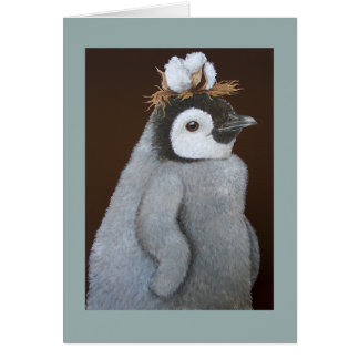 A FIne Southern Penguin holiday card