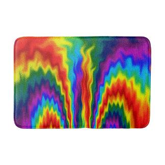 A Fire In A Rainbow Bath Mat