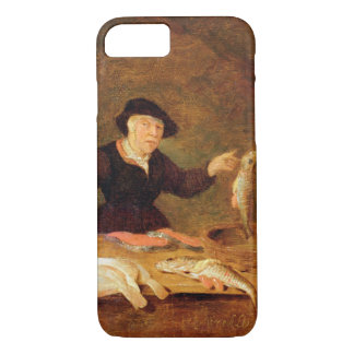 A Fishmonger, c.1667 (oil on panel) iPhone 7 Case