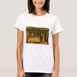 A Fishmonger's Shop by Frederick Walker T-Shirt