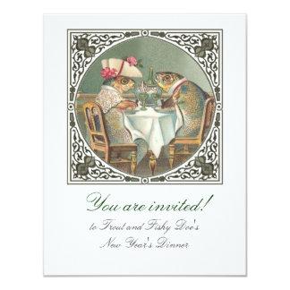 A Fishy Date Customizable Card