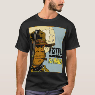 A Fistful Of Bananas - Monkey Clint (black nero) T-Shirt