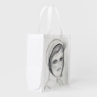 A Flapper Reusable Grocery Bags
