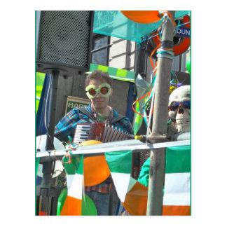A Float St Patrick's Day Parade, London Postcard