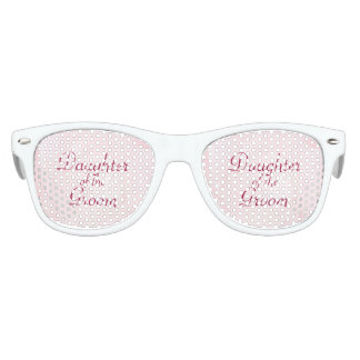 A Flower For My Love DAUGHTER OF THE GROOM Kids Sunglasses