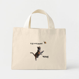 A fly in MY domain? , NEVER! Mini Tote Bag