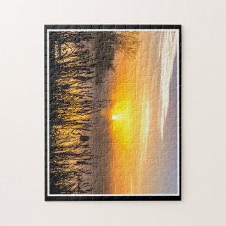 A Foggy Sunrise 11x14 Puzzle By Thomas Minutolo