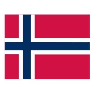 """""""Å"""" for åker Norwegian flash cards/matching cards Postcard"""