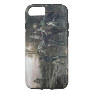 A Foraging Party Returning to Camp (oil on canvas) iPhone 7 Case