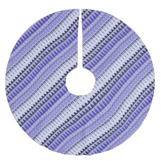 A Forest Pattern Brushed Polyester Tree Skirt