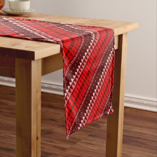 A Forest Pattern Short Table Runner