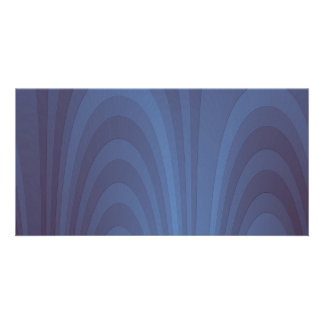 A Fountain Of Blue Customized Photo Card