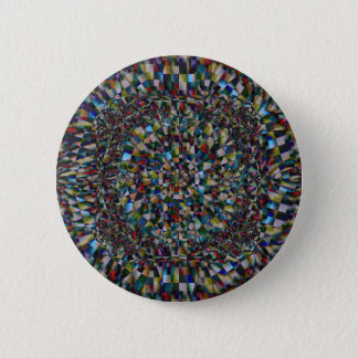 A Fractal of a Chance (Button) 2 Inch Round Button