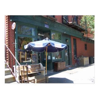 A french bread shop in Brooklyn Postcard