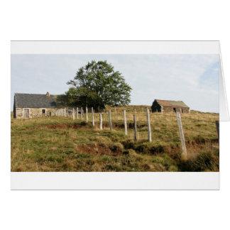 A French Farm Greeting Card
