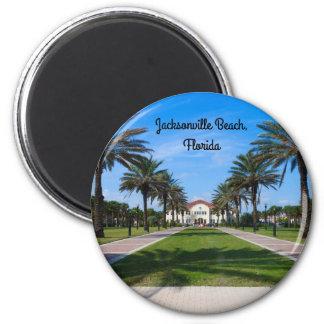 A fridge magnet from Jacksonville Beach, Florida