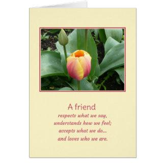 A friend... card
