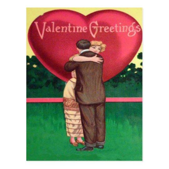 A 'Friend Zone' Valentine Postcard