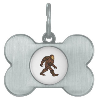 A Friendly Strut Pet Name Tag