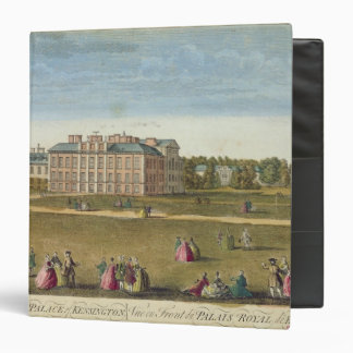 A Front View of the Royal Palace of Kensington Binders
