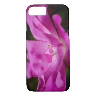 A fuchsia rose iPhone 8/7 case