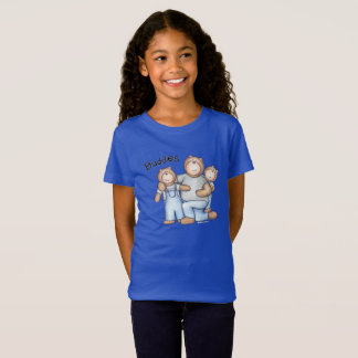 A fun shirt for siblings (or cousins) to wear!