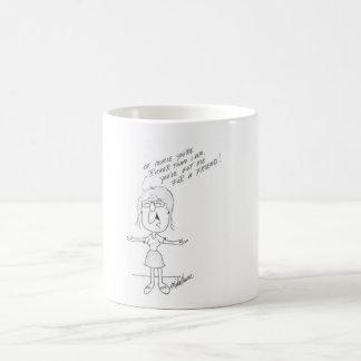 A funny friendship mug. coffee mug