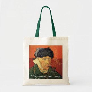 A funny Vincent bag for art lovers.