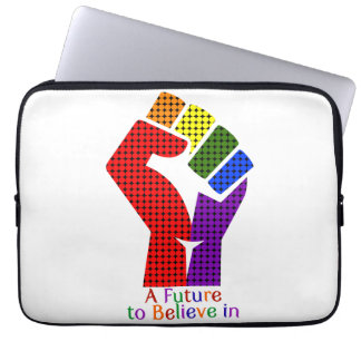 A Future to Believe in LGBT Computer Sleeves
