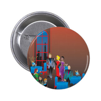 A Gala Affair Button 2 Inch Round Button
