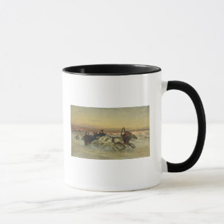 A Galloping Winter Troika at Dawn Mug