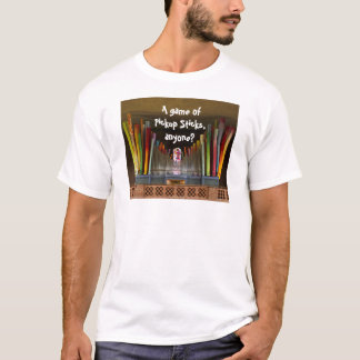 A game of Pickup Sticks T-shirt