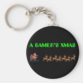 A Gamer's Xmas Keychain